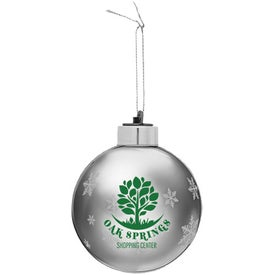 Light-Up Glass Ornament for Your Church