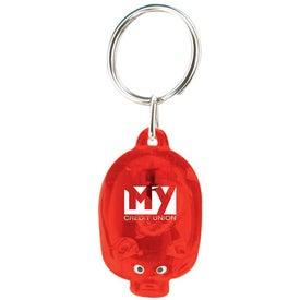 Light Up Piggy Keytag for Your Company