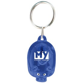 Light Up Piggy Keytag