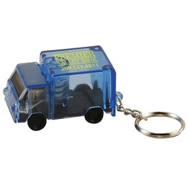 Light Up Truck Keytag for your School