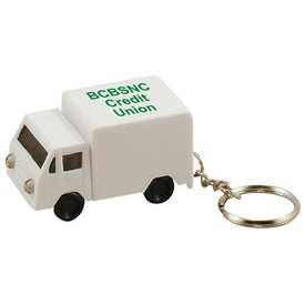 Logo Light Up Truck Keytag