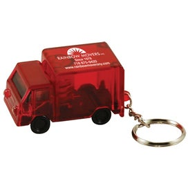 Custom Light Up Truck Keytag