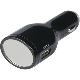 Branded Light Up USB Car Charger