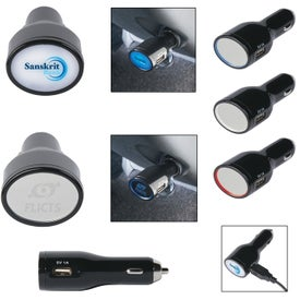 Light Up USB Car Charger for Customization