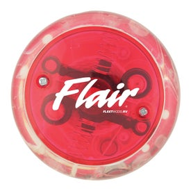 Blinking Light Up Yo-Yo Branded with Your Logo