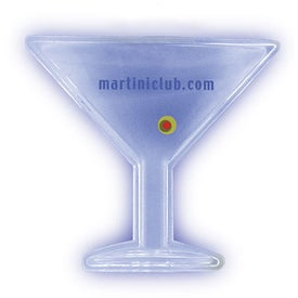 Lighted Pendant Necklace - Martini
