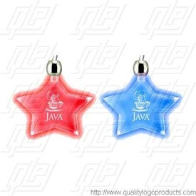 Lighted Pendant Necklace - Star