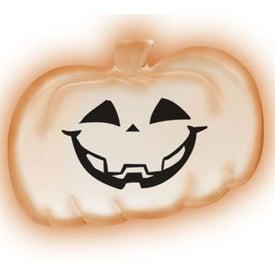 Lighted Pendant Necklace - Pumpkin