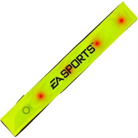 Imprinted Light Up Reflective Band