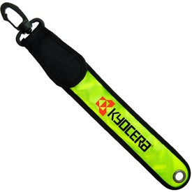 Light-Up Reflective Safety Tag Branded with Your Logo