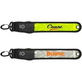 Light-Up Reflective Safety Tag for Customization