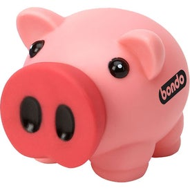 Lil Pig Bank Branded with Your Logo