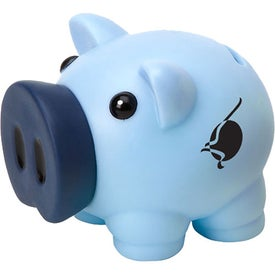 Lil Pig Bank with Your Slogan