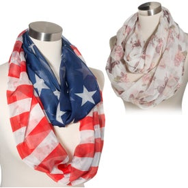 Lila Infinity Scarf (100% Polyester)