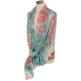 Lila Large Scarf (100% Polyester)
