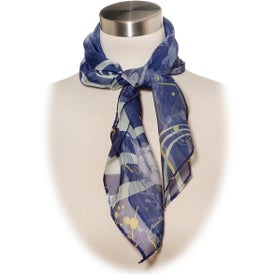 Lila Small Scarf (100% Polyester)
