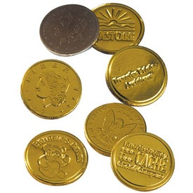 Custom Lincoln Chocolate Coins