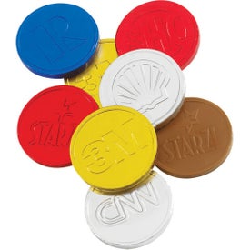 Lincoln Chocolate Coins for Your Organization