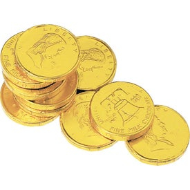 Lincoln Chocolate Coins (Stock Imprint Only)