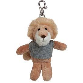 Lion Plush Key Chain