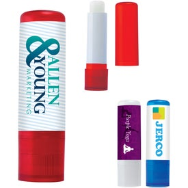 Lip Balm In Color Tube for Marketing