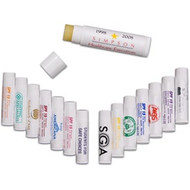 Lip Balm-SPF15 Printed with Your Logo
