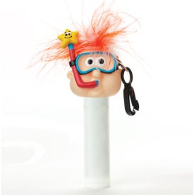 Logo Lip Balm with Goofy Head
