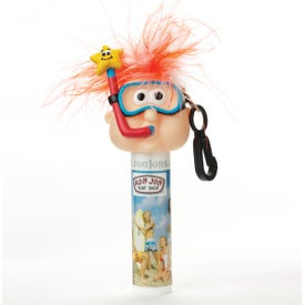 Imprinted Lip Balm with Goofy Head