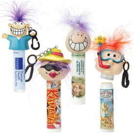 Lip Balm with Goofy Head (0.17 Oz., Quick Ship)