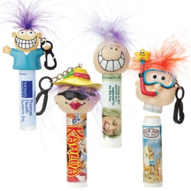 Lip Balm with Goofy Head (0.17 Oz., No Quick Ship)