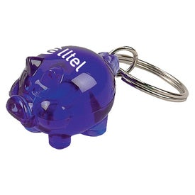 Little Piggy Key Tag for Marketing