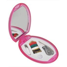 Little Traveler Sewing Kit/ Mirror for Advertising