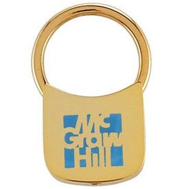 Lock Shaped Keytag for Your Organization