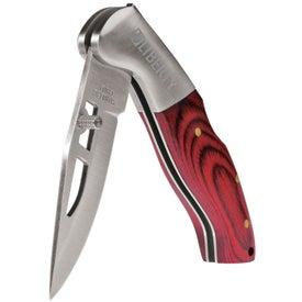 Advertising Lockback Knife