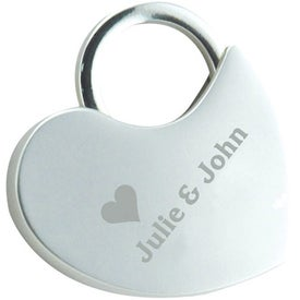 Locking Heart Keytag