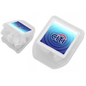 Logo'd Box of Mints Branded with Your Logo