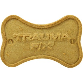 Bone Shaped Dog Biscuit Imprinted with Your Logo