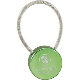 Personalized Lollipop Keychain