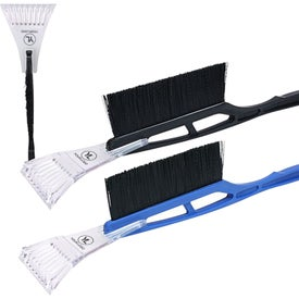 Advertising Long Handle Ice Scraper Snow Brush