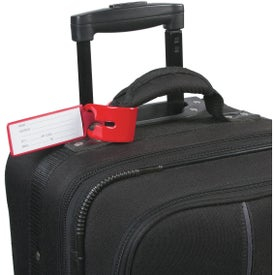 Loopy Luggage Tag Imprinted with Your Logo