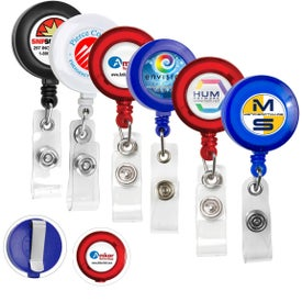 Lorain VL Round Retractable Badge Reel