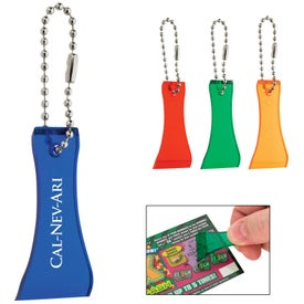 Lottery Scratcher With Bead Chain for Promotion