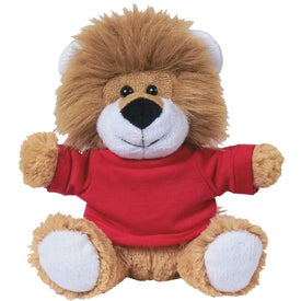 """Lovable Lion With Shirt (6"""")"""
