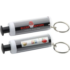 Branded Press Your Luck Key Chain
