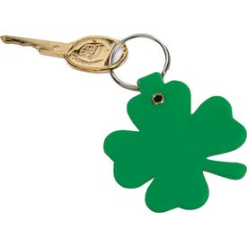 Lucky Clover Key Tag for Your Company