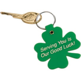 Lucky Clover Key Tag