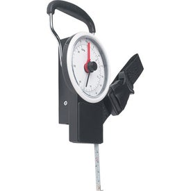 Imprinted Luggage Scale With Tape Measure