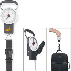 Advertising Luggage Scale With Tape Measure