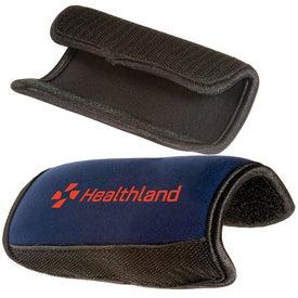Luggage Handle Wrap - Neoprene for Advertising