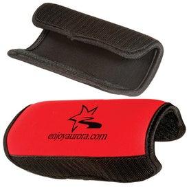 Luggage Handle Wrap - Neoprene with Your Slogan